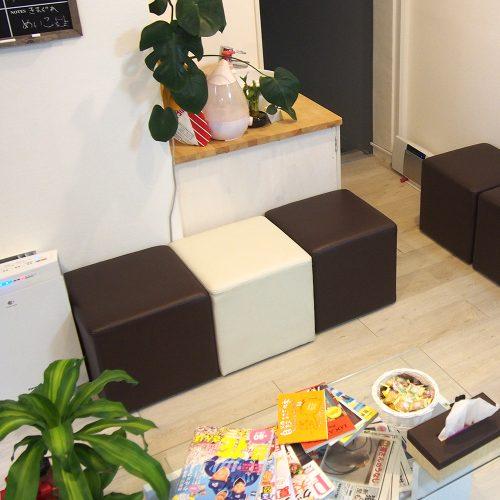 院内の様子 待合室